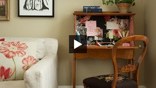 Interior Design — diy Easy Painted Desk Makeover