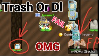 TRASH OR DL ( Trash Prank! ) OMG - Growtopia