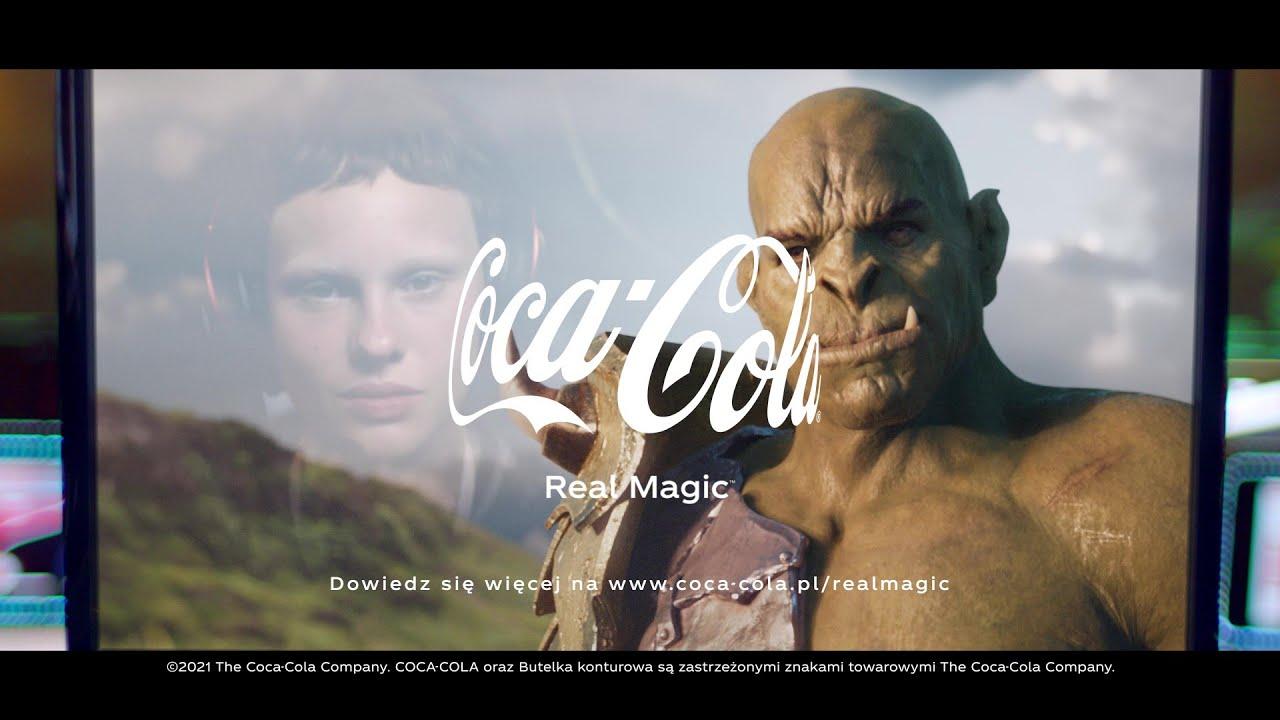Coca-Cola zbliża nas do siebie - Coca-Cola #RealMagic - YouTube