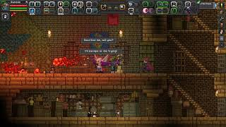 Starbound Ep 5 I am not looting, I am liberating stuff