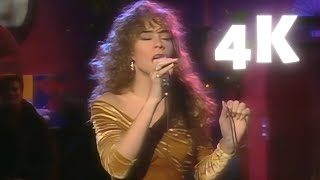 [REMASTERED 4K 60FPS] Mariah Carey - Love Takes Time (Stockholm 1990)