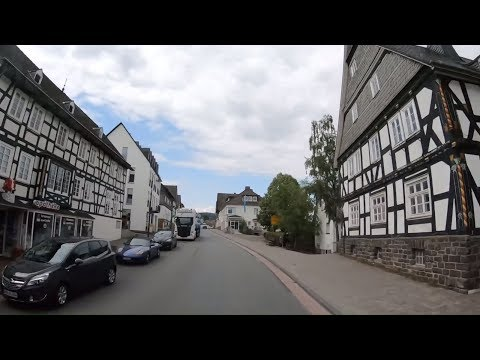 Как живут в немецких сёлах и городках в земле Северный Рейн-Вестфалия: Халленберг, Винтерберг и др.