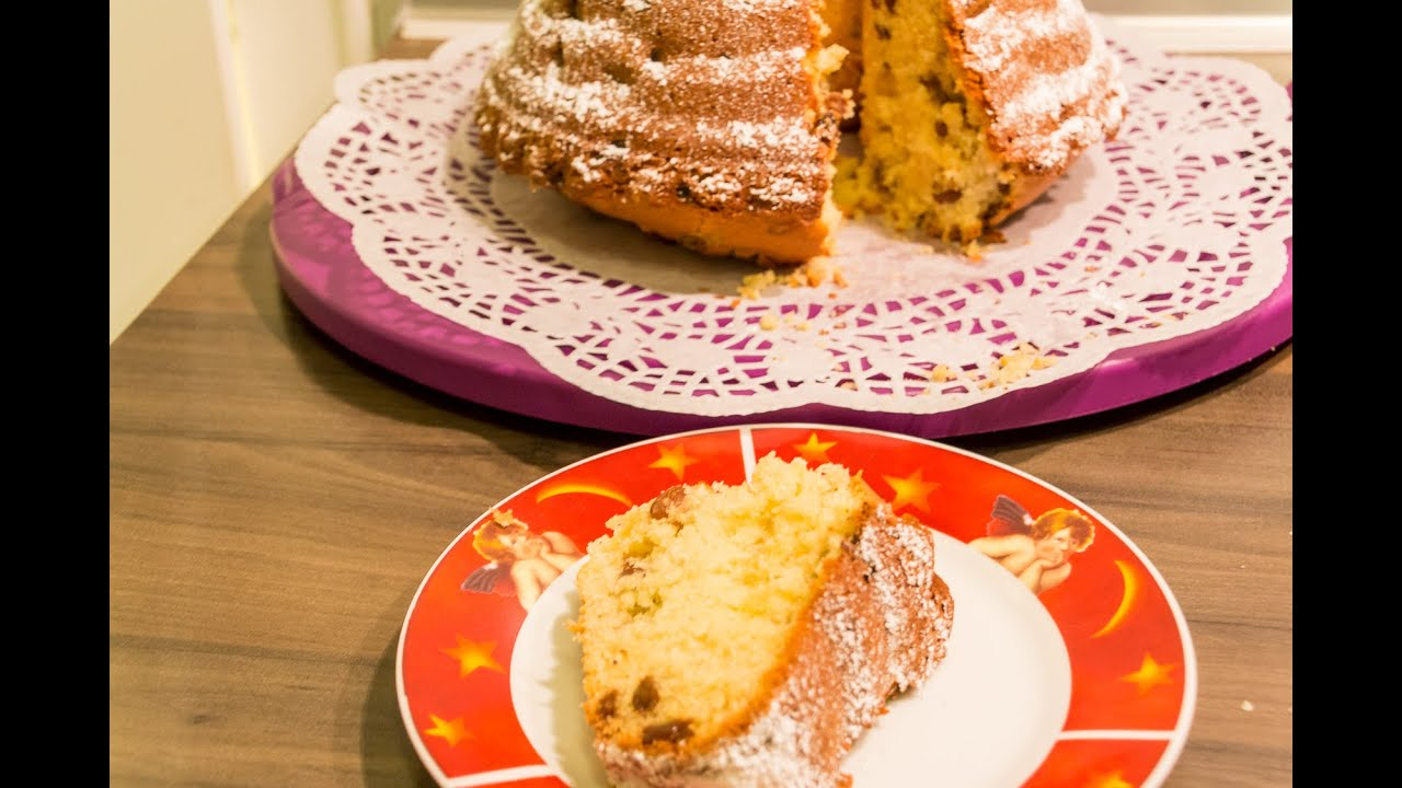 rosinenkuchen gugelhupf selbst gemacht einfach schnell und lecker rezept recipe youtube. Black Bedroom Furniture Sets. Home Design Ideas