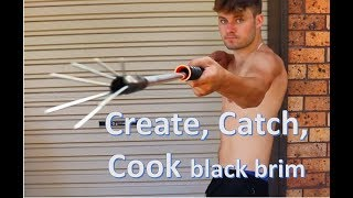 Make A Hand Spear Gun, EP1 Create, Catch, Cook
