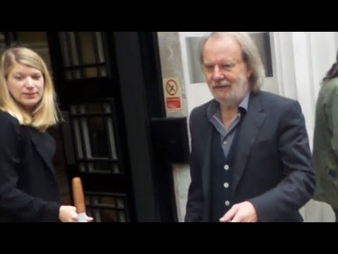 ABBA Benny Andersson in London 27 09 2017...