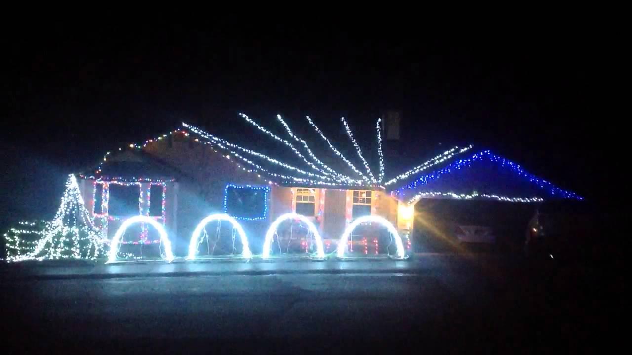 Christmas lights kkk - YouTube