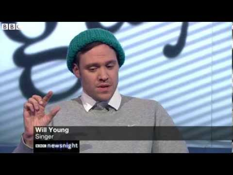 Will Young v Milo Yiannopoulos on Newsnight  26/11/2013