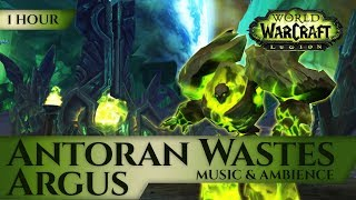 Argus, Antoran Wastes - Music & Ambience  (1 hour, 4K, World o…