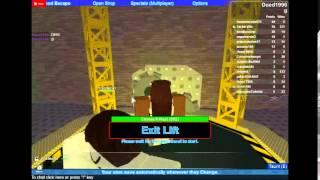 Roblox Video:Flood Escape Version 1 By Crazyblox
