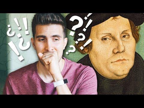 La Historia de Martín Lutero y sus 95 Tesis es Falsa.