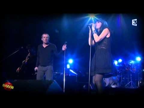 Nolwenn Leroy - Brest à la Carène en duo avec Miossec - Mars 2011