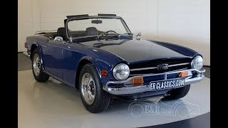 Triumph TR6 Cabriolet 1972 -VIDEO- www.ERclassics.com
