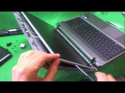 HP 4530s ProBook 4530s Laptop Screen Replacement Procedure