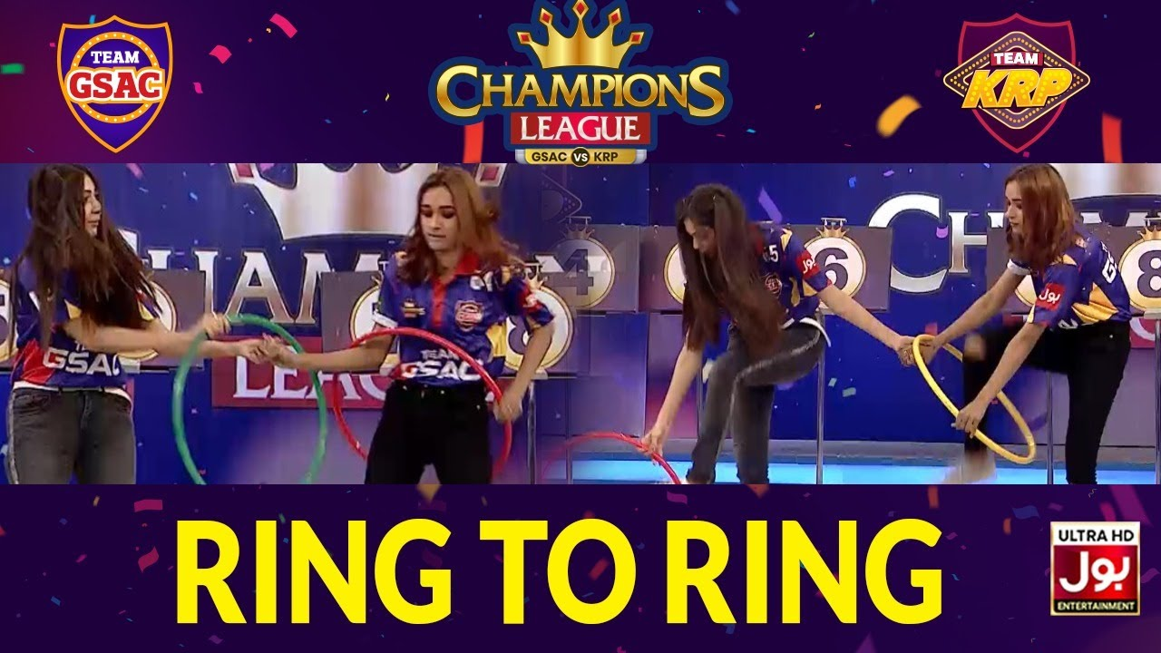 Ring To Ring | Champions League | Game Show Aisay Chalay Ga vs Khush Raho Pakistan