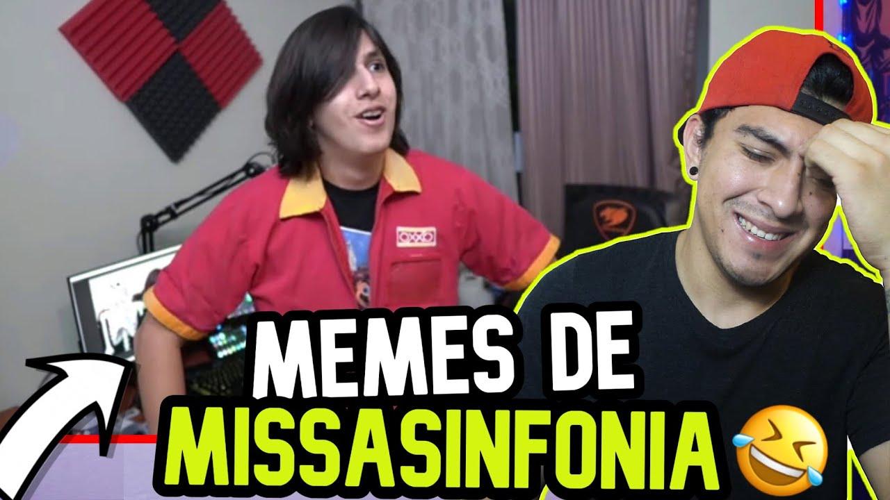 MEMES DE MISSASINFONIA *REACCION*😂