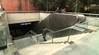 Green Park metro station of Delhi Metro - Entrance