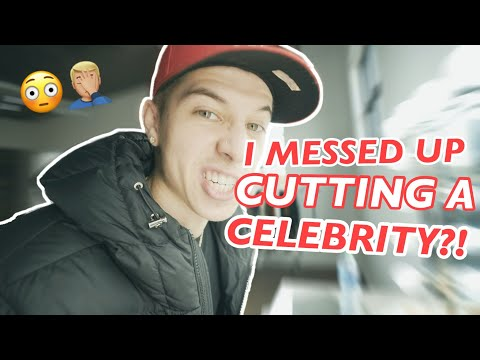 I MESSED UP CUTTING A CELEBRITY?! - VicBlends