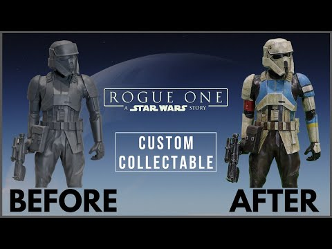 Shoretrooper Lawn Ornament Makeover- Chris' Custom Collectables! from YouTube · Duration:  7 minutes 33 seconds