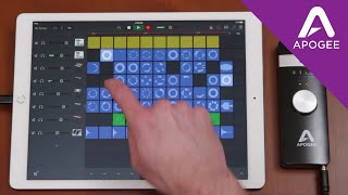 Apple's new Live Loops feature provides incredible sequencing funct...