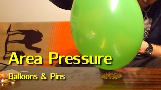 Gambar cover Balloon and Pins Experiment / Area pressure