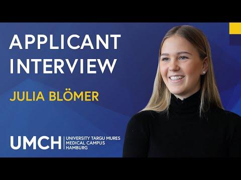 Medical Studies In Germany – Feedback From UMCH Applicants – Julia Blömer