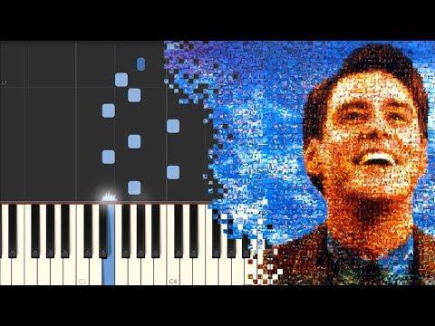 Truman Sleeps - The Truman Show - Philip Glass [Piano Tutorial] (Synthesia)