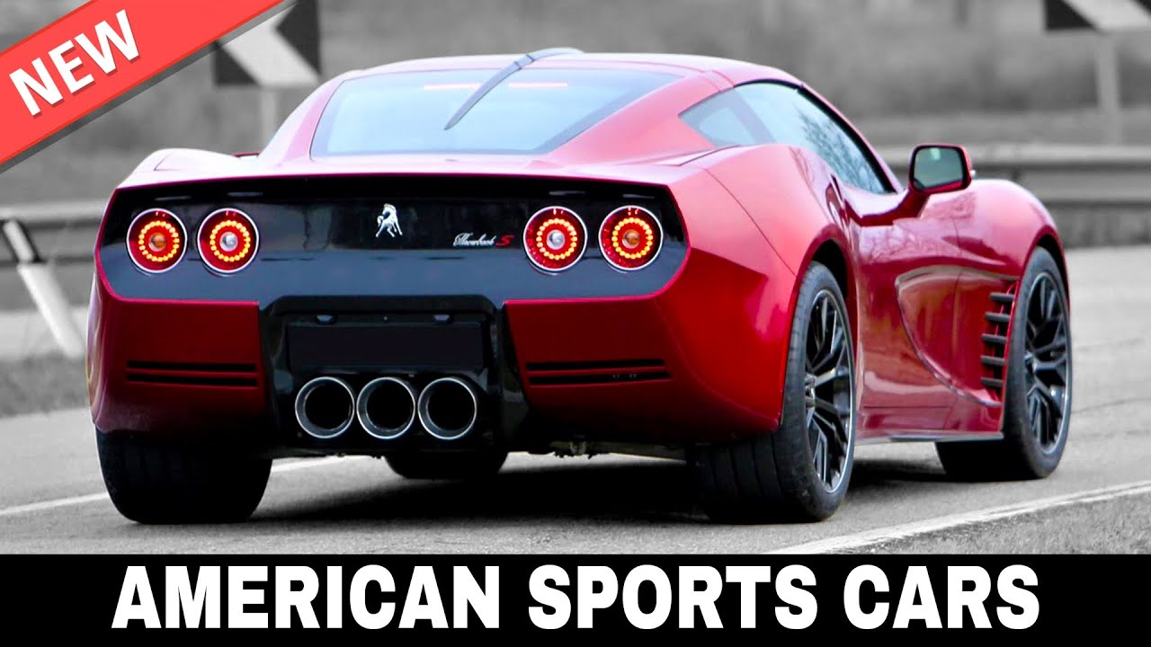 10 New American Sports Cars With Muscular Looks And Mean Engine Growls Youtube