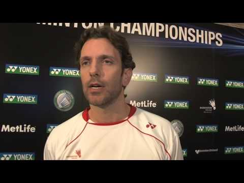 Yonex All England Post match interview with Mixed doubles coach Pete Jeffery