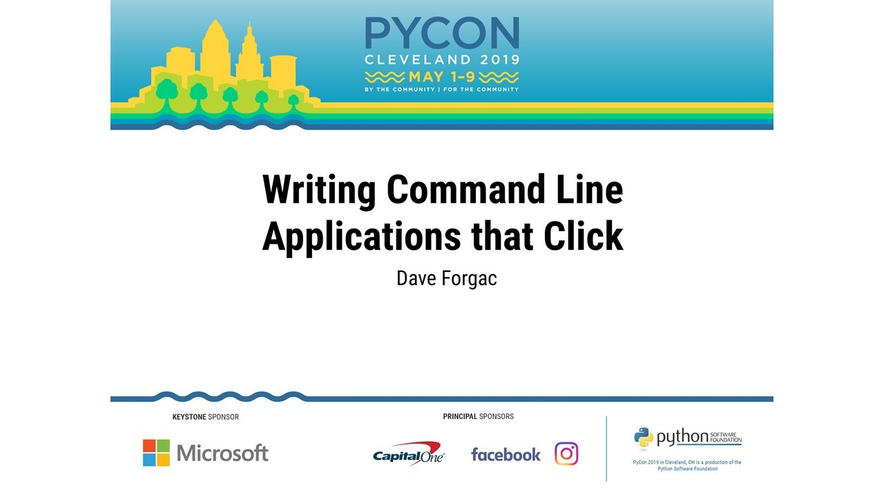 Image from Writing Command Line Applications that Click