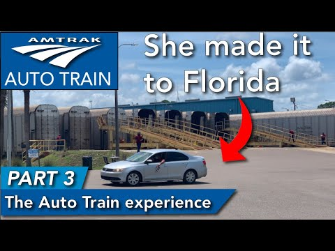 The Amtrak Auto Train experience PART 3