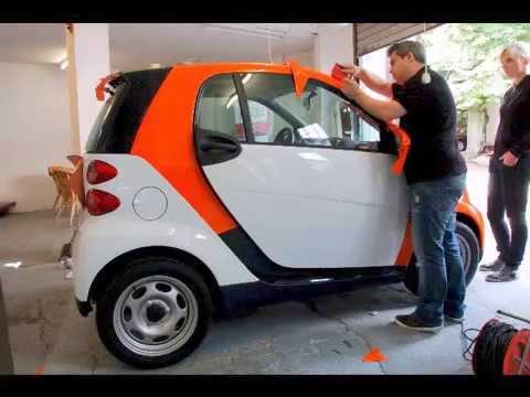 Car Wrapping Folierungen Projekt Smart Fortwo Lds