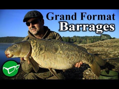 Pêche de la carpe en lac de barrage avec KORDA [carpfishing]