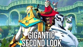 Gigantic (Free Action / MOBA Game): Watcha Playin