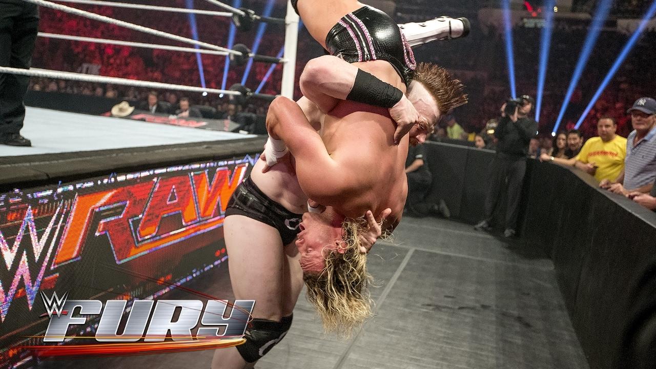 20 spine-tingling slams on the floor: WWE Fury
