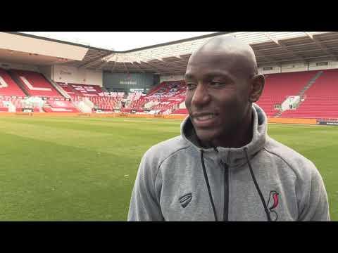 REACTION: Benik Afobe on defeat to Sheffield Wednesday.