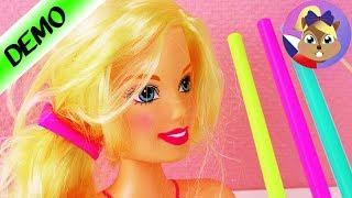 Barbie a její nové vlasy | Dají se vlasy sepnout brčkem? | Ukázka