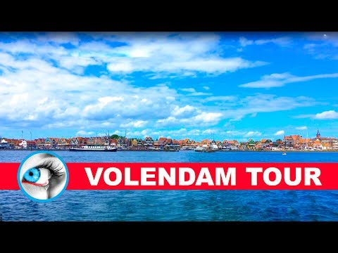 VOLENDAM - NETHERLANDS - 4K 2017 - TRAVEL GUIDE