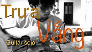 trưa vắng - guitar solo