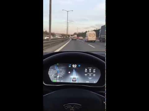 Tesla Autopilot Istanbul Drive