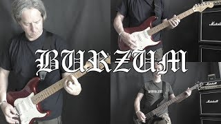 Burzum -  A Lost Forgotten Sad Spirit - Guitar Cover