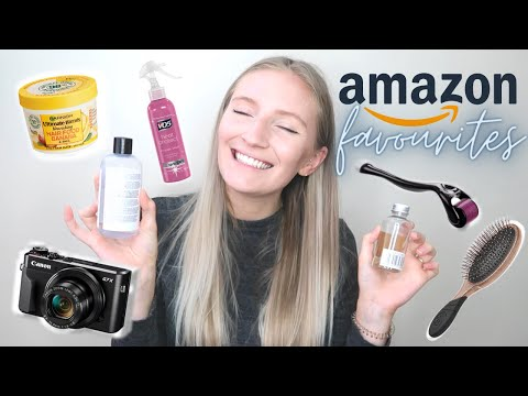 amazon favourites | affordable products you *need* from amazon | haircare, beauty, tech and more!
