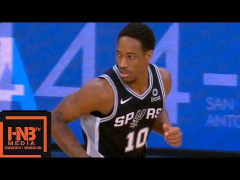 Golden State Warriors vs San Antonio Spurs 1st Qtr Highlights   11.18.2018, NBA Season