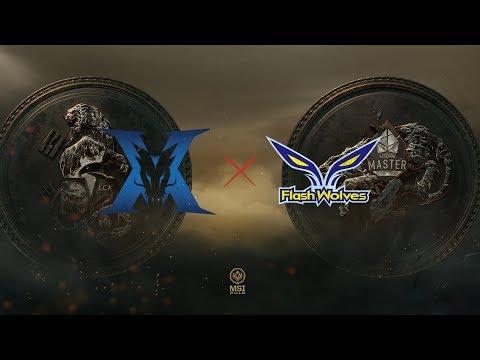 KING-ZONE DragonX vs Flash Wolves vod