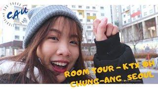 ROOM TOUR - KTX ĐH CHUNG-ANG | Dạo quanh tòa ktx xịn xò nhất CAU ☾DU HỌC SINH HÀN QUỐC☽