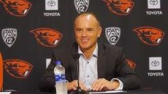 Oregon State Women's Basketball: Press Conference vs Oregon