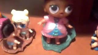 історія лол про відьму .куколики в садочку сестрички