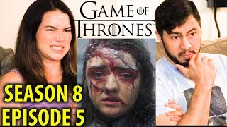 GAME OF THRONES | S08E05 - TheBells | Reaction!