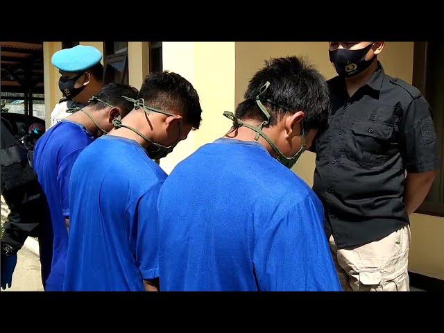 Polisi Ringkus Geng Motor Penganiaya Karang Taruna di Cimaung
