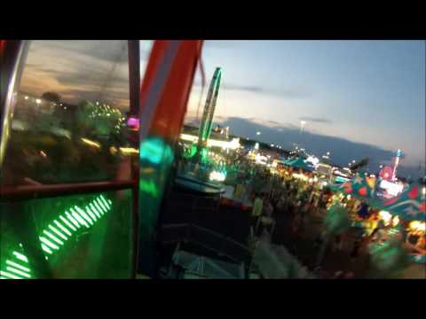 Best Rides at the NY State Fair 2016 (GoPro)