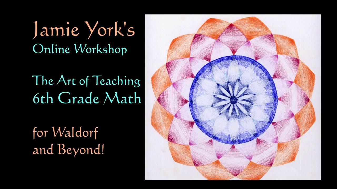 Jamie York\'s Online Grade 6 Math Workshop Trailer - YouTube